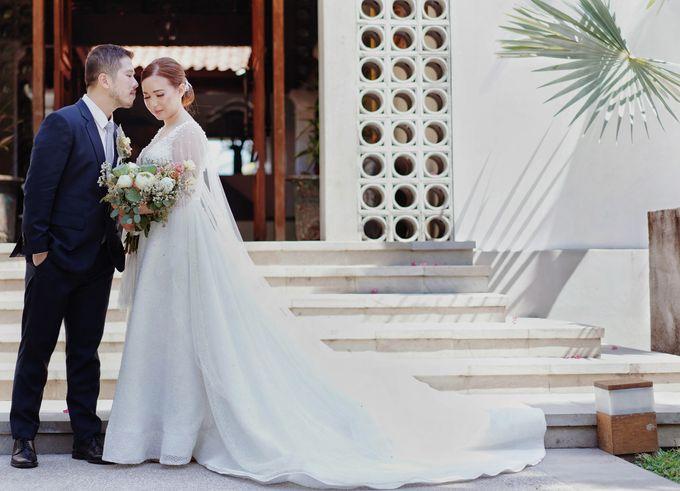 Dicky & Chelsea Wedding Day by Vivi Valencia - 029