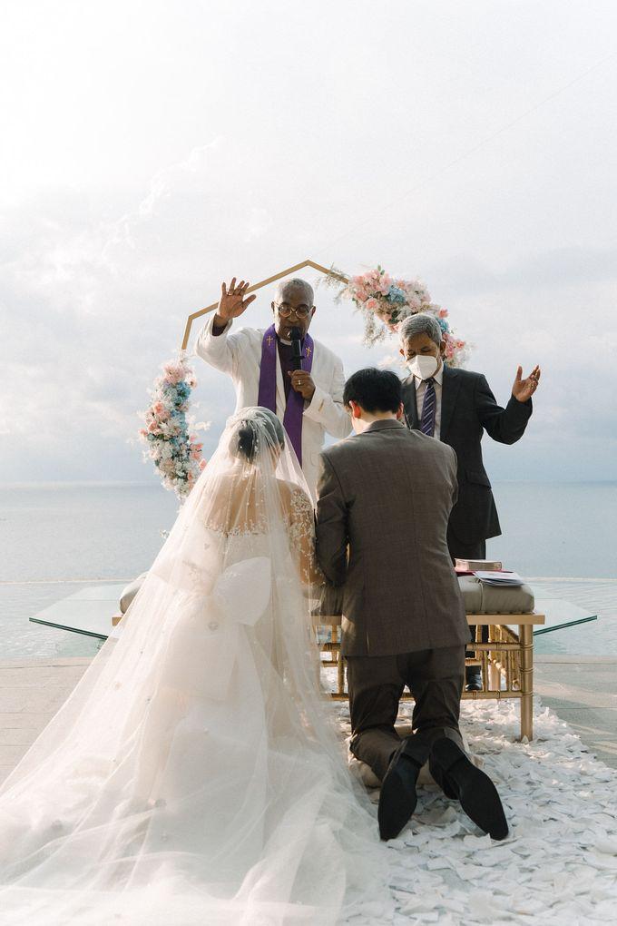 HOWARD and VINA Wedding by Lona Makeup - 005