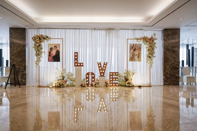 THE WEDDING OF H & G by GLORIOSA DECORATION - 001