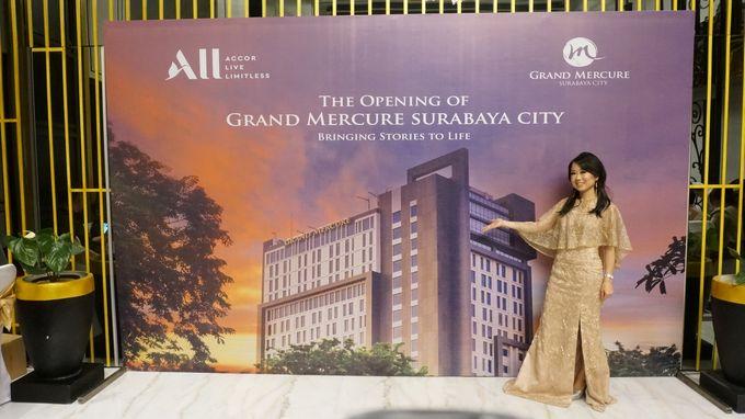 Grand Opening of Grand Mercure Surabaya City by MC Mandarin Linda Lin - 011