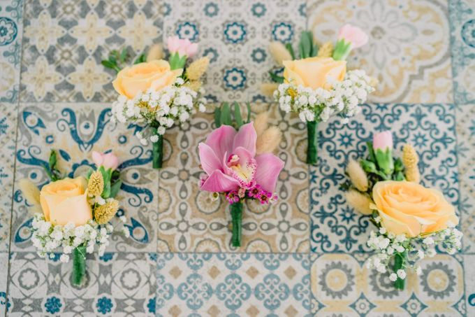 Bohemian Rustic Theme for The Wedding of Mariam & Pierre-Luc by Bali Wedding Atelier - 004