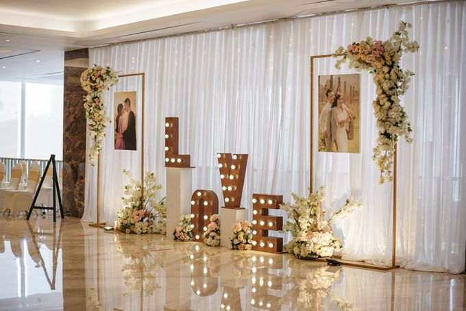 THE WEDDING OF H & G by GLORIOSA DECORATION - 009