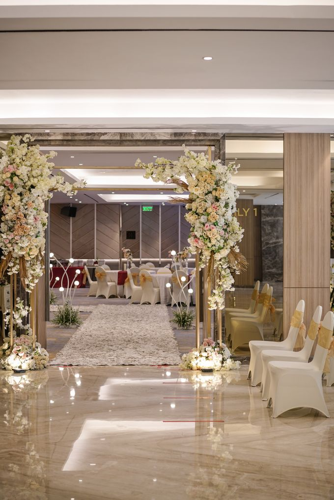 THE WEDDING OF H & G by GLORIOSA DECORATION - 010
