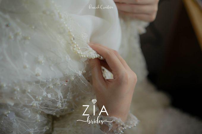 Akad Attire for Meidiana & Idham by Zia Brides Make Up Artist & Kebaya - 001