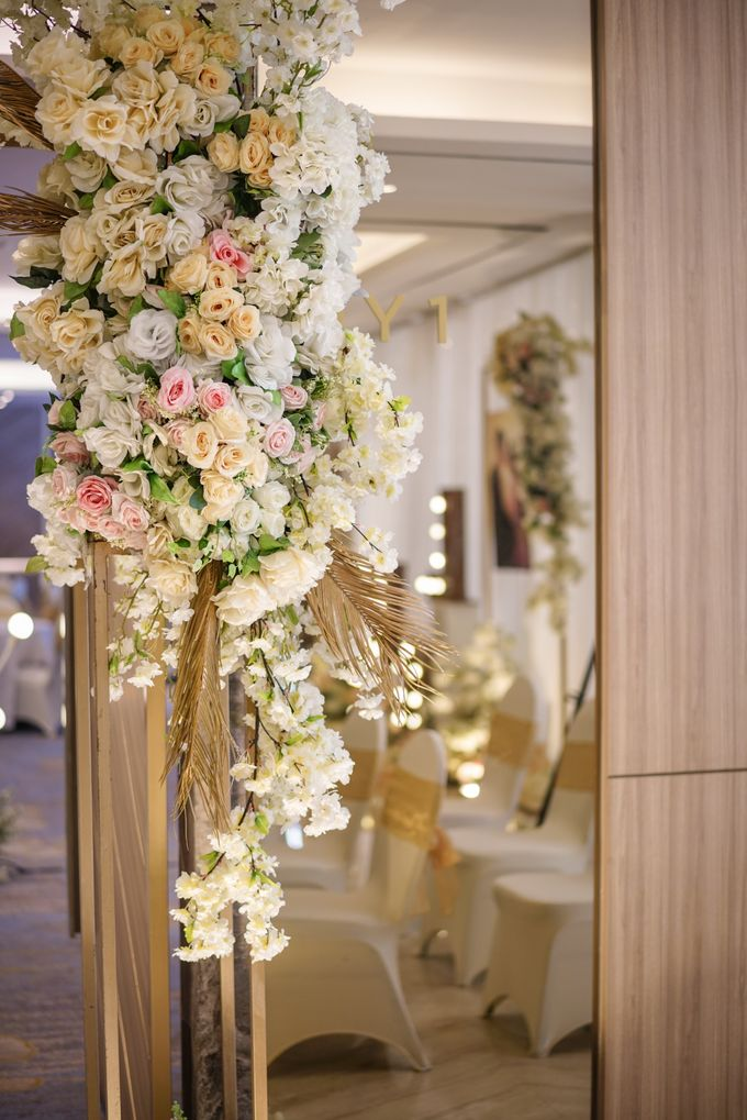 THE WEDDING OF H & G by GLORIOSA DECORATION - 012