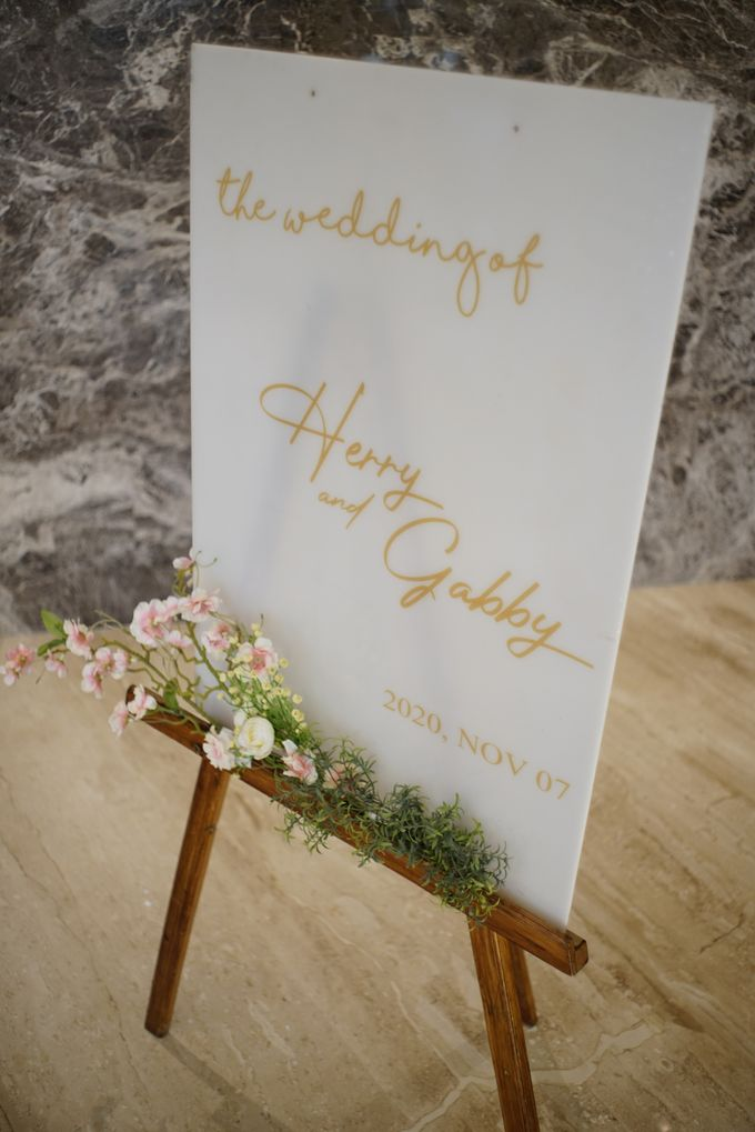 THE WEDDING OF H & G by GLORIOSA DECORATION - 020