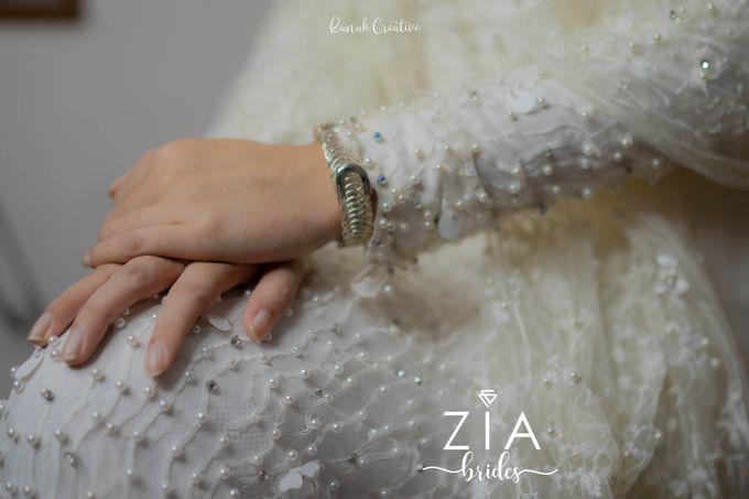 Akad Attire for Meidiana & Idham by Zia Brides Make Up Artist & Kebaya - 002