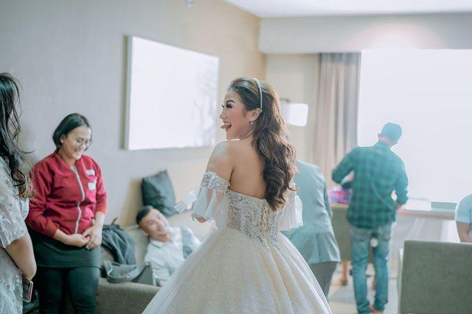 Wedding Day of Vicky & Irindacil by Ricky-L Photo & Bridal  - 012