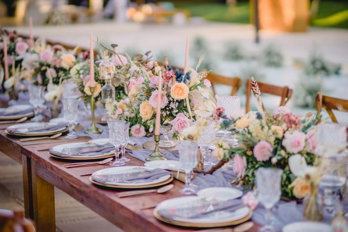 Bohemian Rustic Theme for The Wedding of Mariam & Pierre-Luc by Bali Wedding Atelier - 015