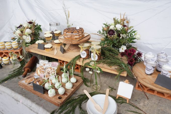 Rustic Dessert Table by Tiffany's Flower Room - 002