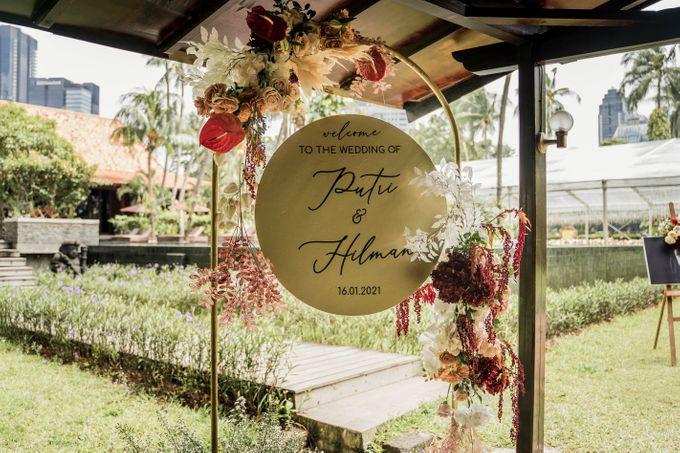 Putri & Hilman Wedding by The Sultan Hotel & Residence Jakarta - 008