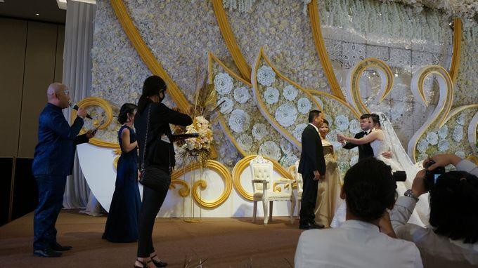 Wedding of Julius Chaisar and Patricia Winata by MC Mandarin Linda Lin - 006