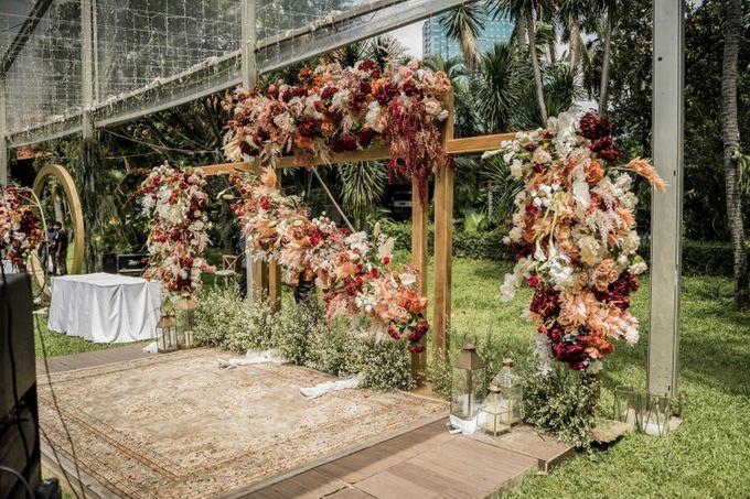 Putri & Hilman Wedding by The Sultan Hotel & Residence Jakarta - 007