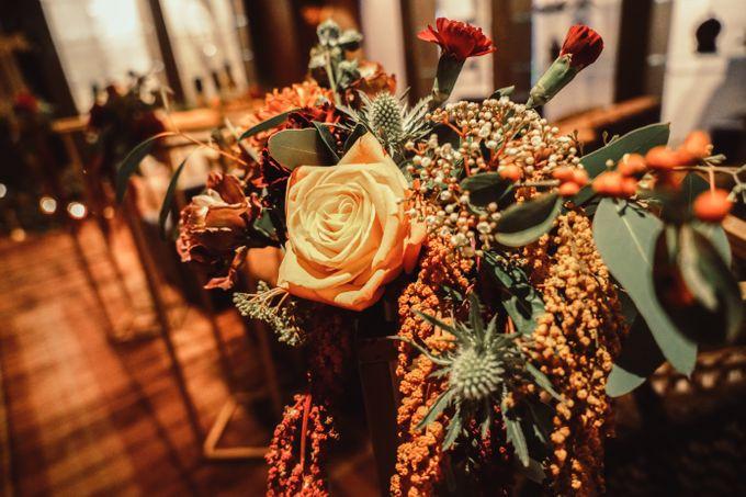Boho Autumn Wedding by Eufloria - 002