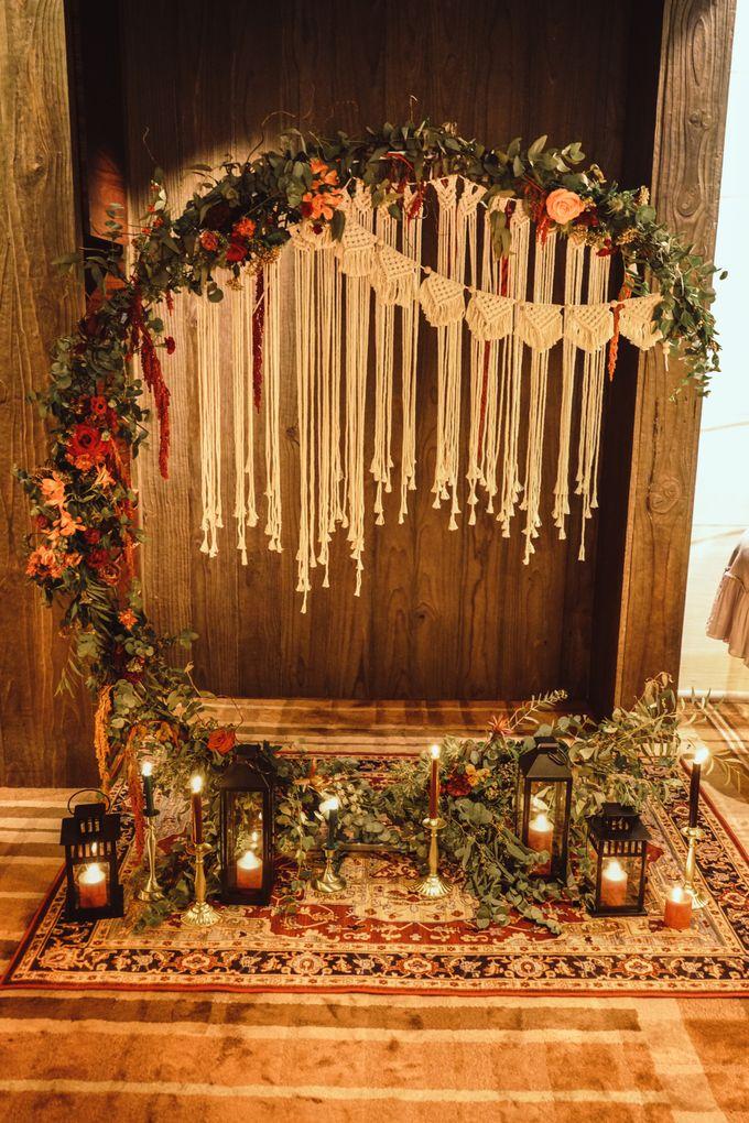 Boho Autumn Wedding by Eufloria - 003
