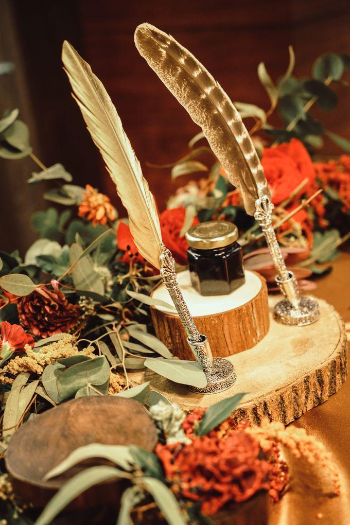Boho Autumn Wedding by Eufloria - 008