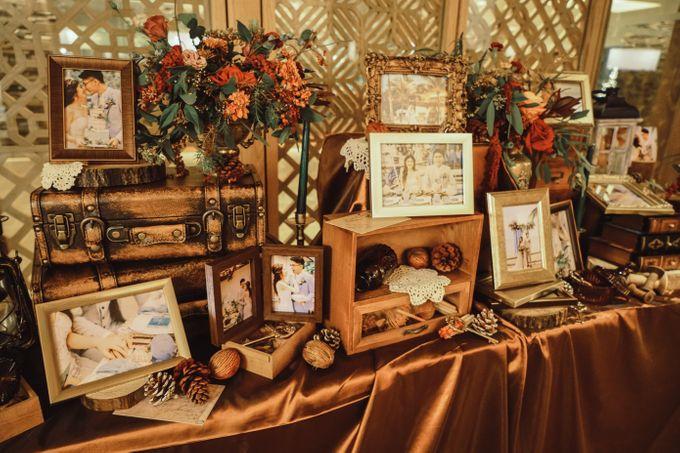 Boho Autumn Wedding by Eufloria - 013