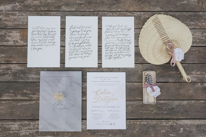 The Beautiful Classic White Wedding by Memoir Paperie - 041