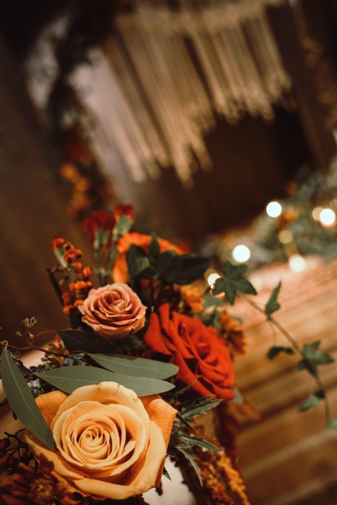Boho Autumn Wedding by Eufloria - 019