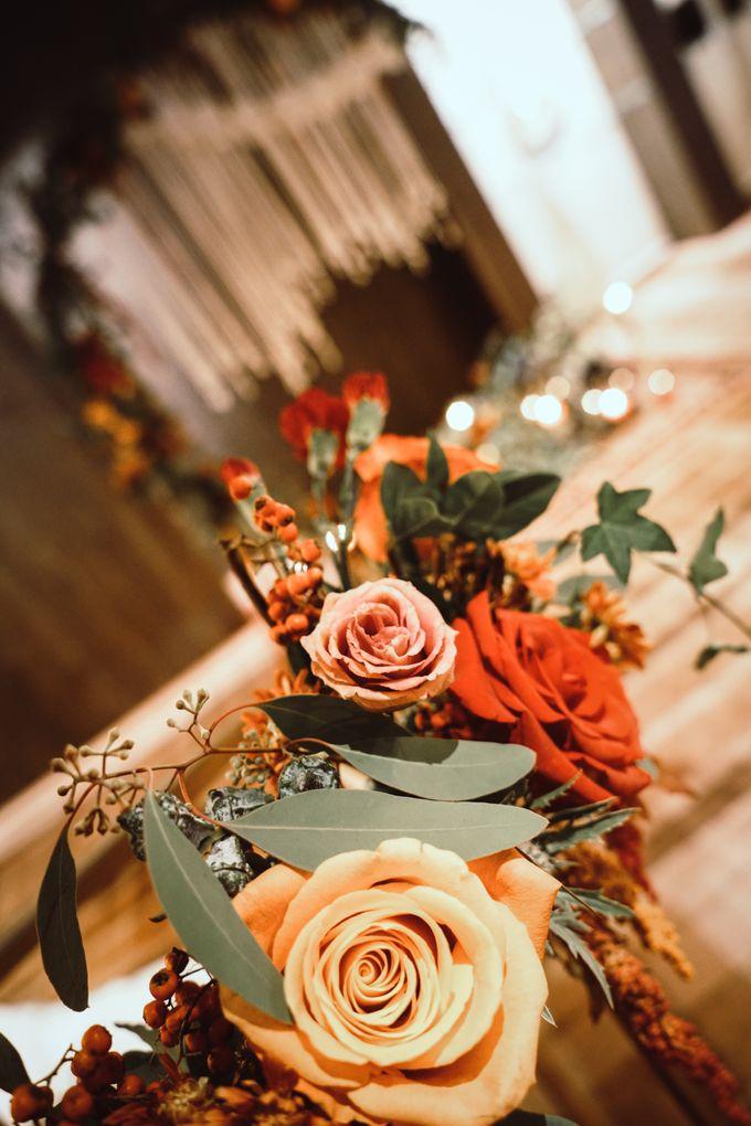 Boho Autumn Wedding by Eufloria - 020