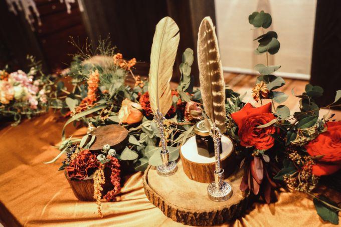 Boho Autumn Wedding by Eufloria - 009