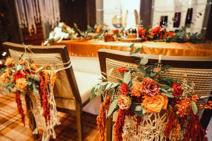 Boho Autumn Wedding by Eufloria - 005