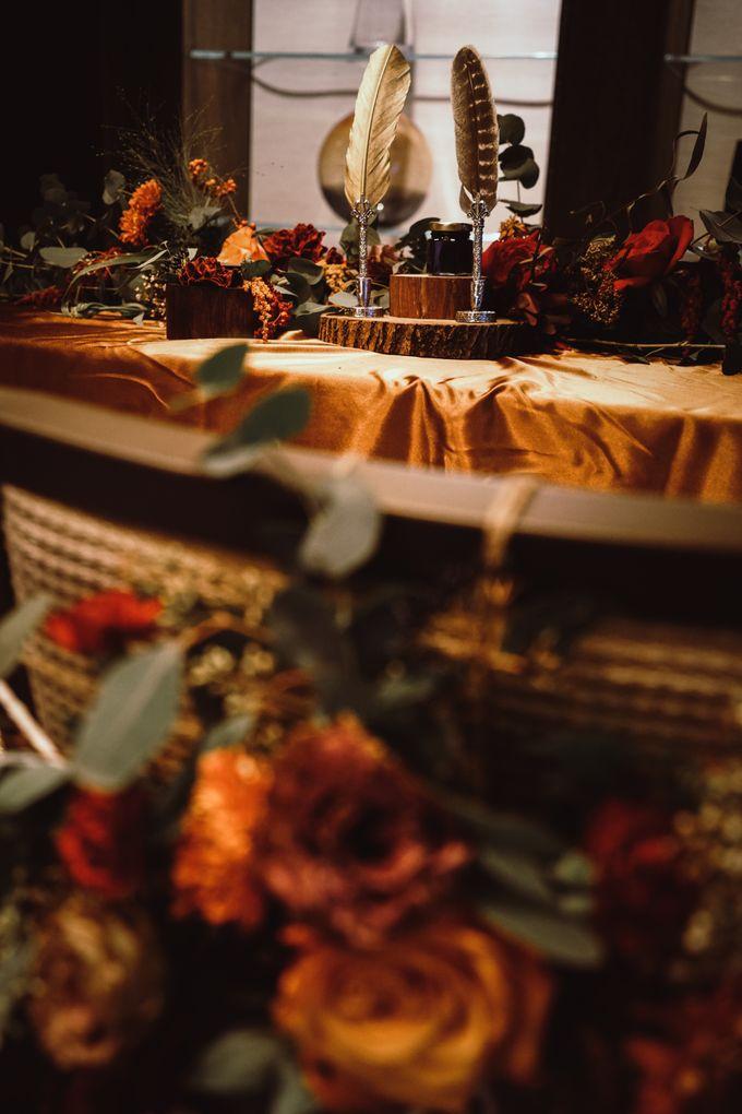 Boho Autumn Wedding by Eufloria - 006