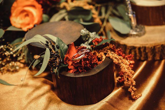 Boho Autumn Wedding by Eufloria - 010