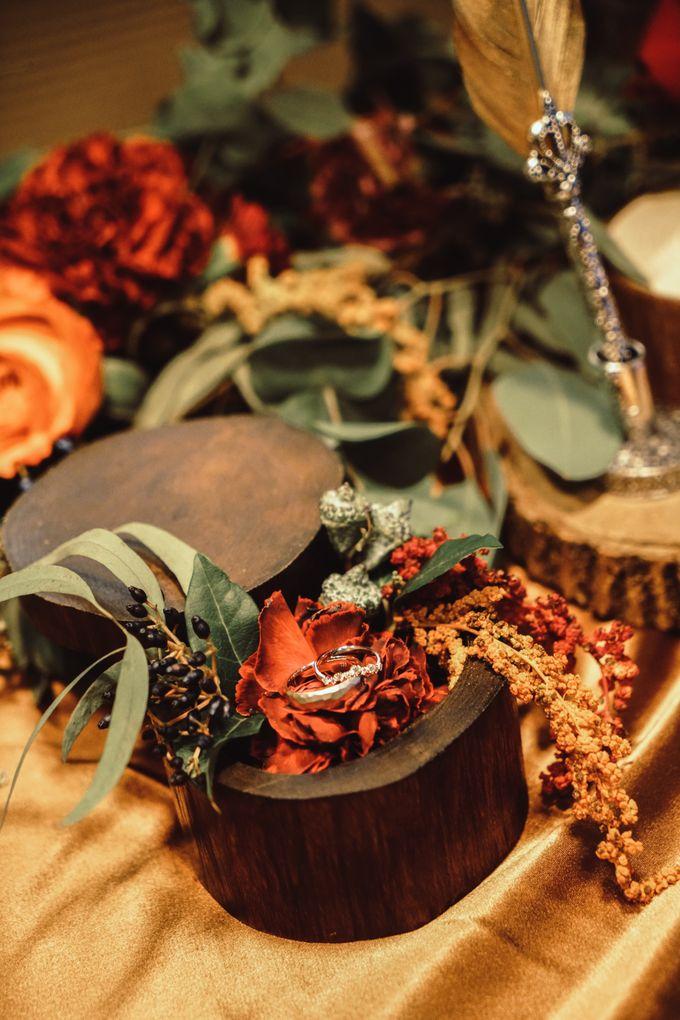 Boho Autumn Wedding by Eufloria - 011