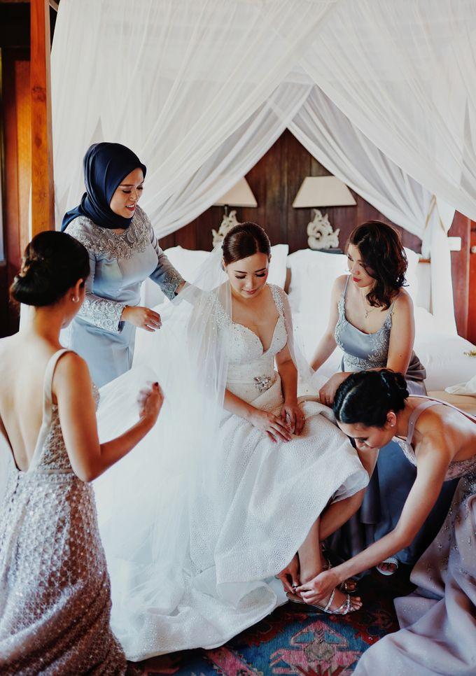 Dicky & Chelsea Wedding Day by Vivi Valencia - 020