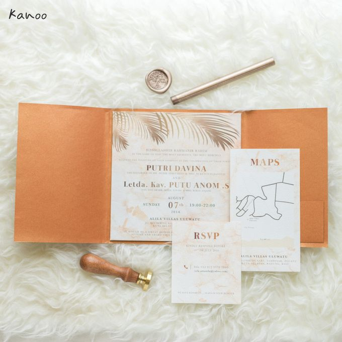 Wedding Invitation Royale Classic by Kanoo Paper & Gift - 002