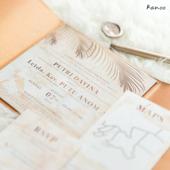 Wedding Invitation Royale Classic by Kanoo Paper & Gift - 003