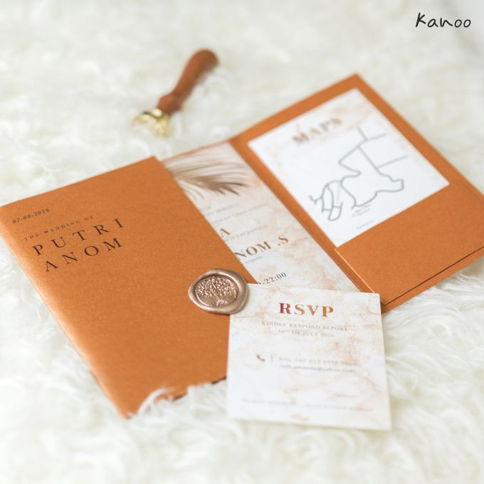 Wedding Invitation Royale Classic by Kanoo Paper & Gift - 004