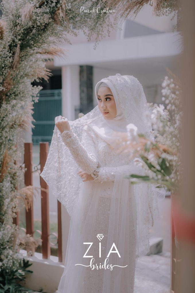 Akad Attire for Meidiana & Idham by Zia Brides Make Up Artist & Kebaya - 004