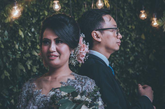 Resepsi Pernikahan Satria & Putri at Hotel Atlet Century by GoFotoVideo - 040