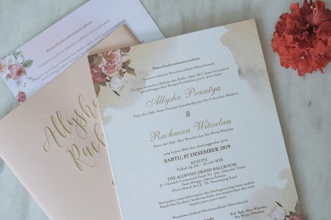 Wedding Allysha & Rachman by UK International Jakarta - 002