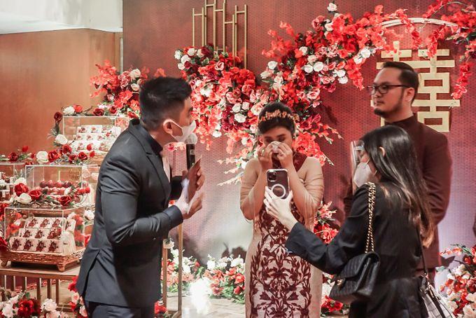 Engagement of ABEL & JACQUELINE by Shangri-La Hotel, Surabaya - 005