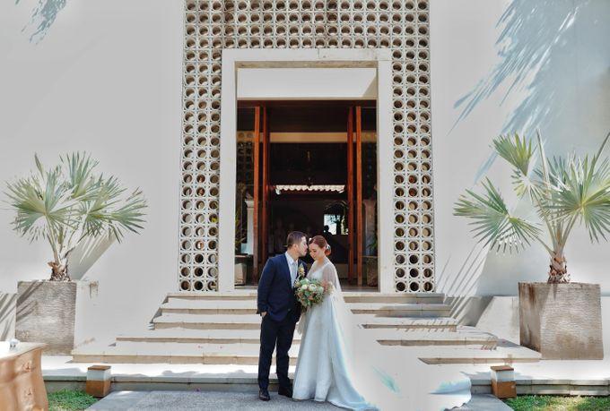 Dicky & Chelsea Wedding Day by Vivi Valencia - 032