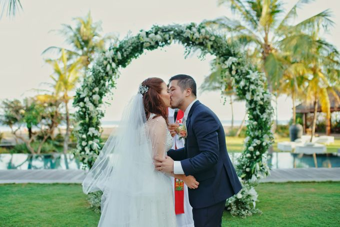 Dicky & Chelsea Wedding Day by Vivi Valencia - 041