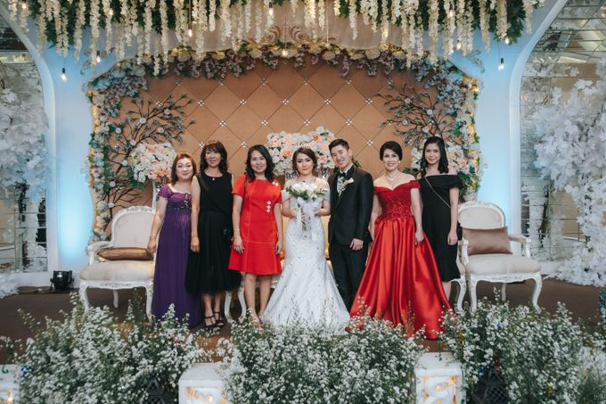 Resepsi dan Pemberkatan Irene & Adit at Central Resto by GoFotoVideo - 043