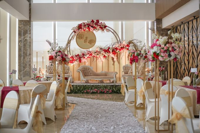 THE WEDDING OF B & P by GLORIOSA DECORATION - 001