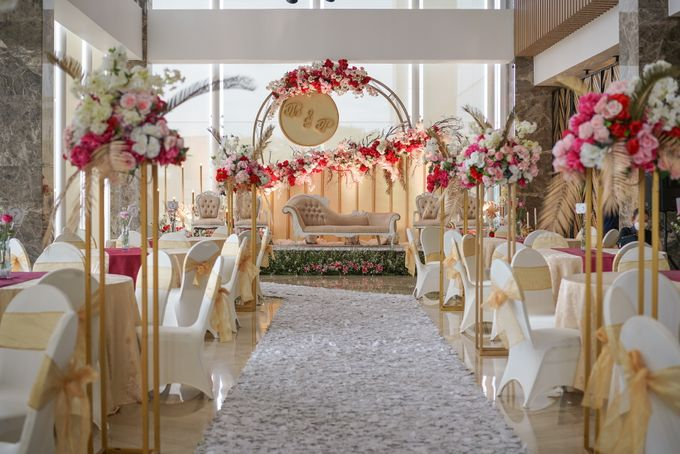 THE WEDDING OF B & P by GLORIOSA DECORATION - 002