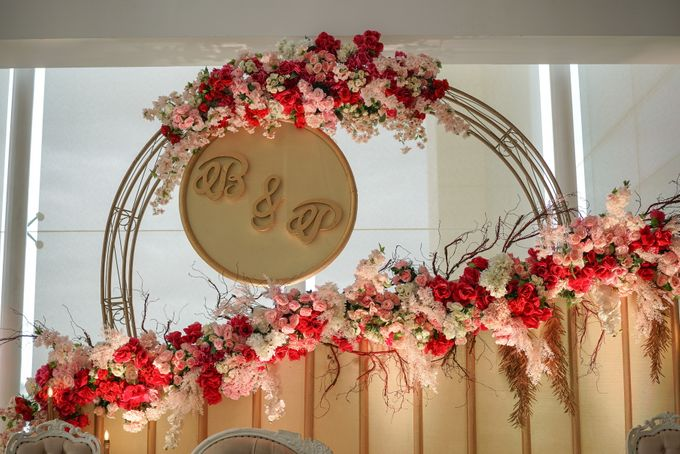 THE WEDDING OF B & P by GLORIOSA DECORATION - 004
