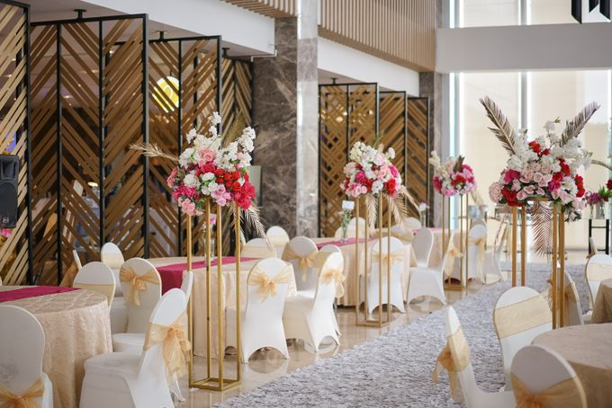 THE WEDDING OF B & P by GLORIOSA DECORATION - 006