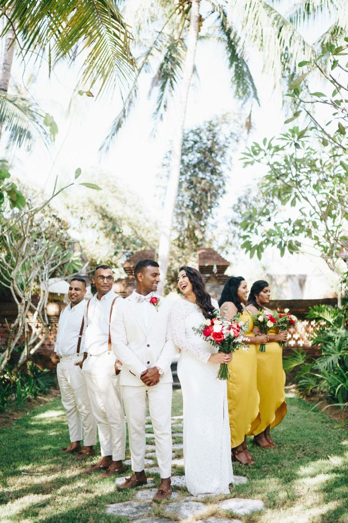 Wedding of Michelle & Prene by Mata Zoe - 015