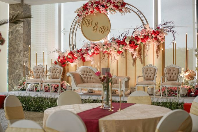 THE WEDDING OF B & P by GLORIOSA DECORATION - 010