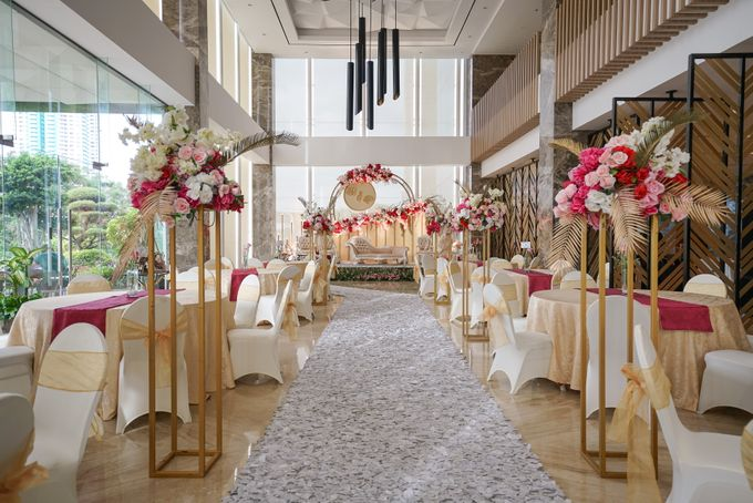 THE WEDDING OF B & P by GLORIOSA DECORATION - 011