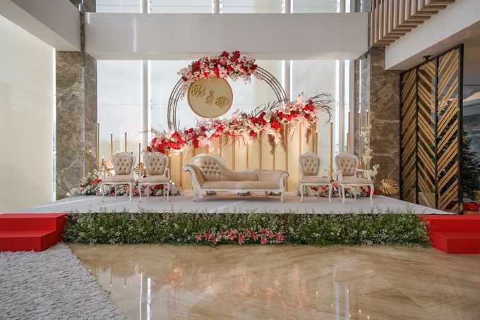 THE WEDDING OF B & P by GLORIOSA DECORATION - 012