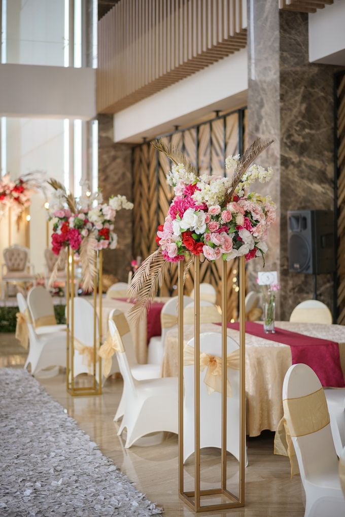 THE WEDDING OF B & P by GLORIOSA DECORATION - 014