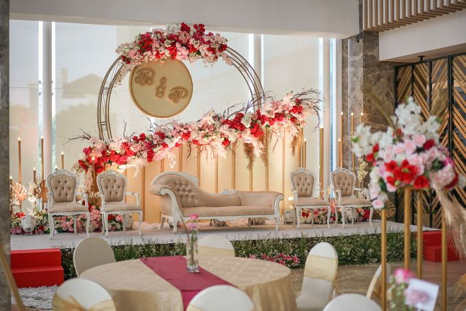 THE WEDDING OF B & P by GLORIOSA DECORATION - 015